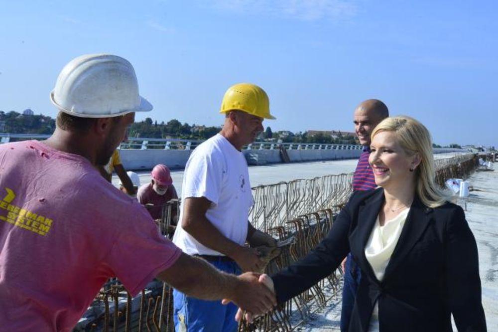 POSETA IZNENAĐENJA: Mihajlovićeva na mostu Zemun-Borča