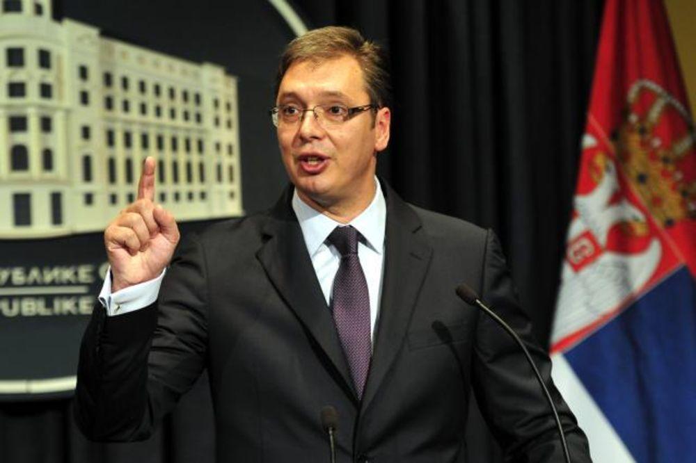 VUČIĆ ODGOVORIO NA DEMARŠ: Ispoštovaćemo volju EU, ali nećemo uvesti sankcije Rusiji