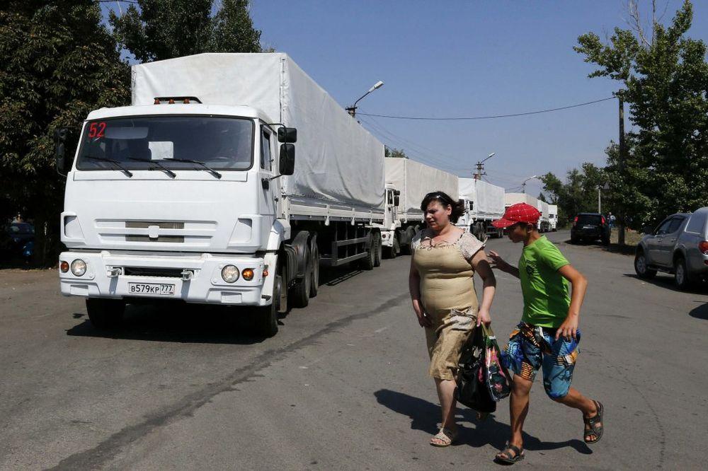 SB UKRAJINE: Ulazak ruskog humanitarnog konvoja je direktna invazija