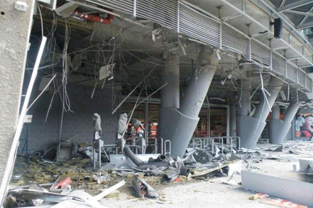 (FOTO) RAT U UKRAJINI: Granatiran stadion Šahtjora u Donjecku