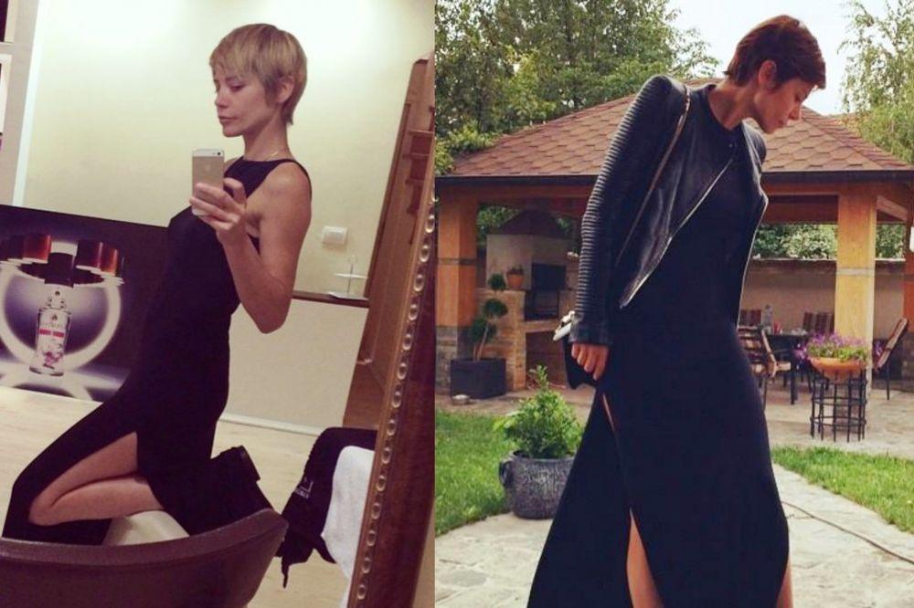 ČAS CRNKA, ČAS PLAVUŠA: Ana Mihajlovski ne može da se odluči za boju kose!