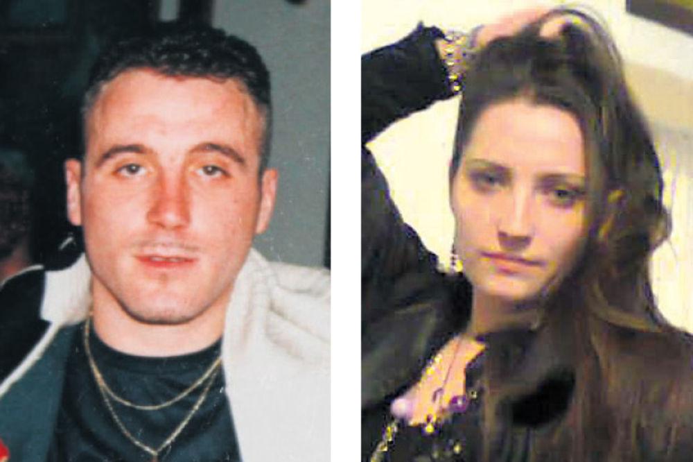 Ubica i žrtva... Ivan Milovanović i Bojana Bačević