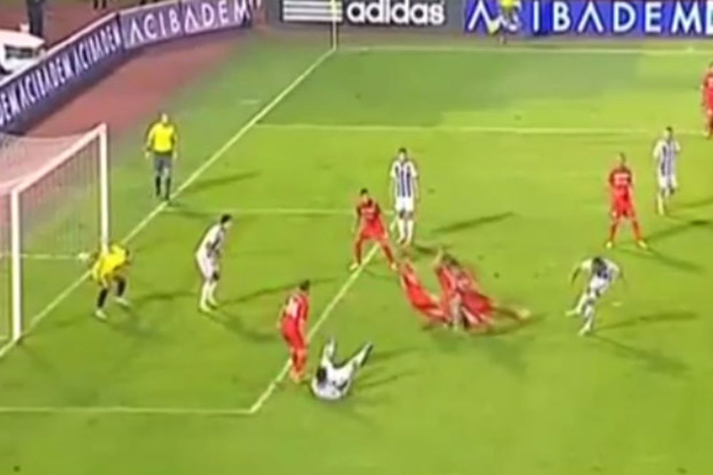 (VIDEO) PROCENITE SAMI: Da li je bio penal za Partizan protiv Donjeg Srema?