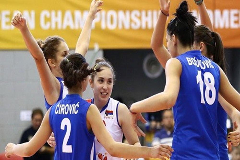 BRAVO ZA ODBOJKAŠICE: Juniorke Srbije prvakinje Evrope