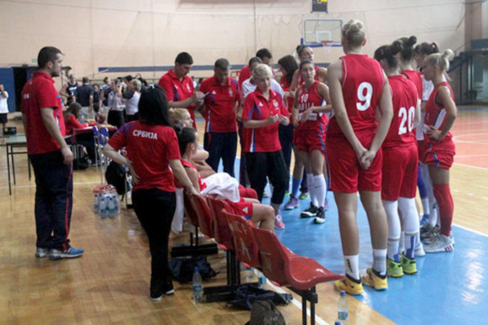 PRVE PROVERE: Košarkašice Srbije otputovale u Češku na turnir