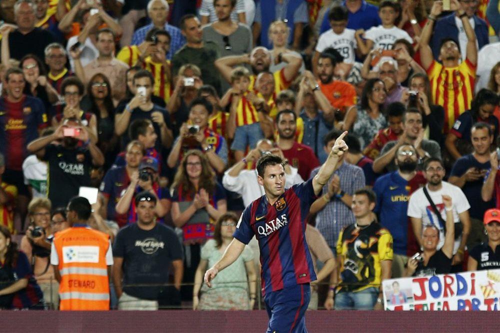 (VIDEO) MESI RUŠI REKORDE: Prvi koji je četiri sezone zaredom postigao dva gola u prvom kolu