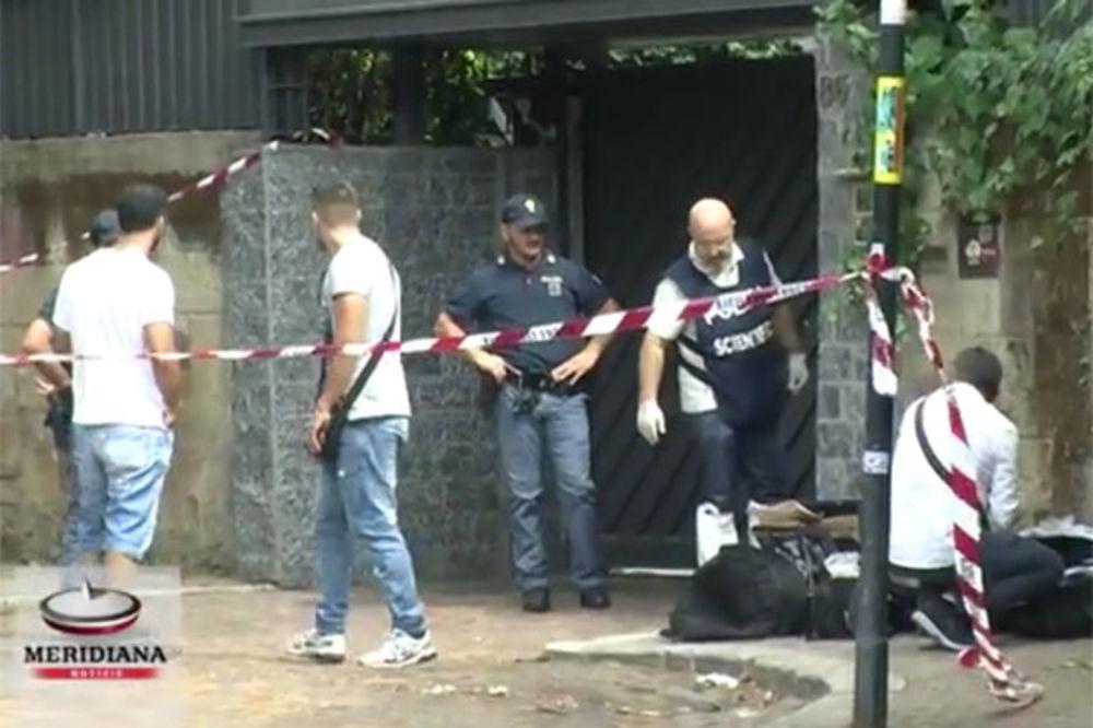 (VIDEO) UŽAS U RIMU: Masakrirao kućnu pomoćnicu i sekirom joj odrubio glavu