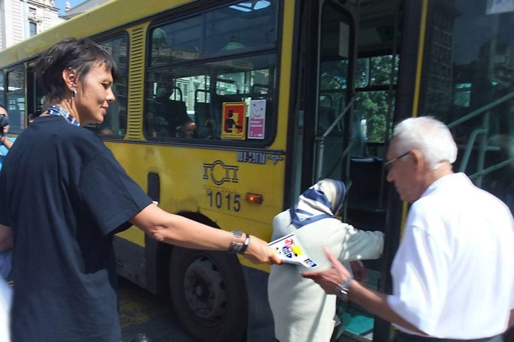 GSP DELI LETKE: Beograđani, plaćajte prevoz!