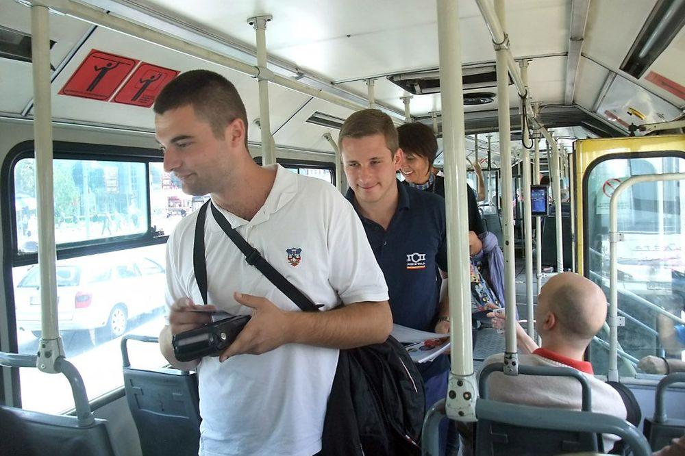 MILKOVIĆ GSP: Putnici u autobusima dnevno očitaju 30 posto više karata!