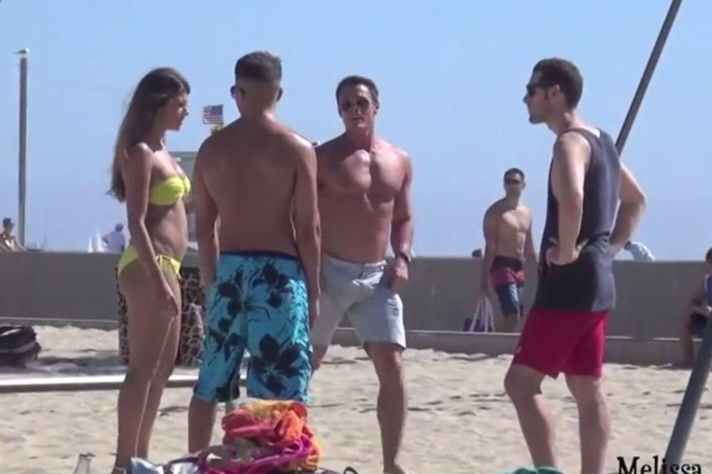 (VIDEO) Ponudila momcima svoju macu, pogledajte kako su reagovali!