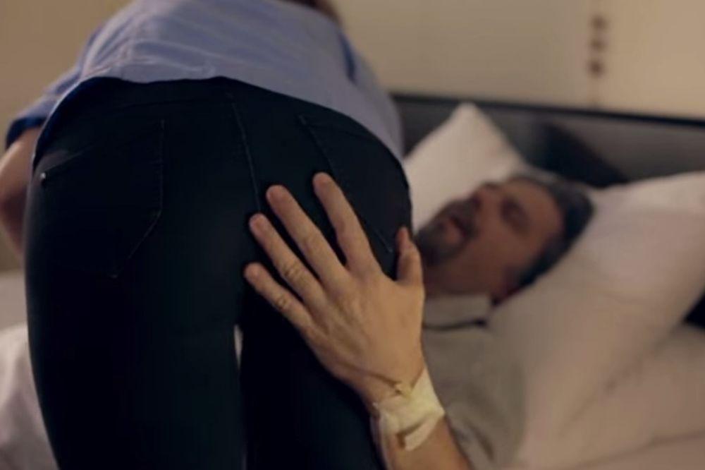 JUTJUB ZABRANIO SPOT PETRU GRAŠI: Uhvatio medicinsku sestru za guzu pa ukinut!