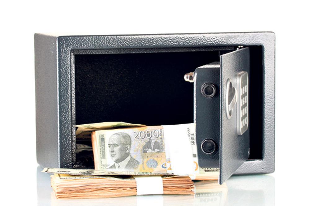 Čuvar iz sefa ukrao dva miliona dinara