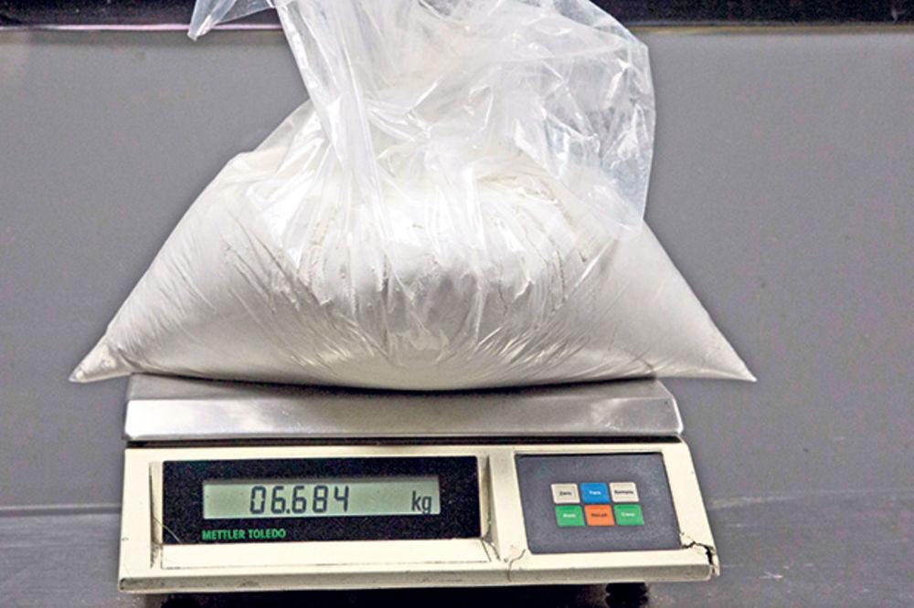 Državljanin Srbije švercovao kokain