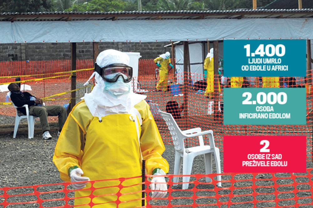 NADA: Japanski lekari imaju lek za ebolu!