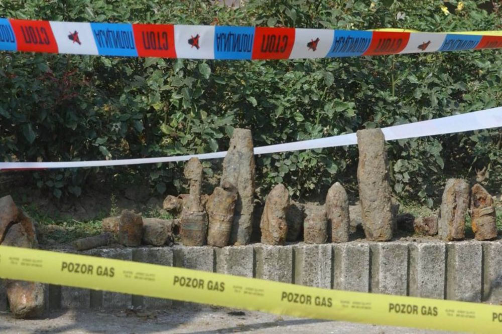 Bela Reka: Nastavljena potraga za četničkim granatama