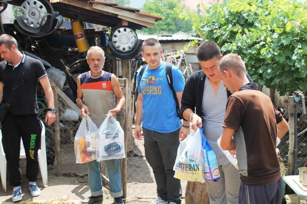 SPOJI podelio pomoć ugroženim porodicama na Kosovu!