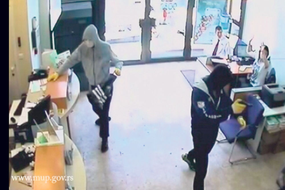 POLICIJA RASKRINKALA BANDU: Pljačkali banke, trošili na kafane