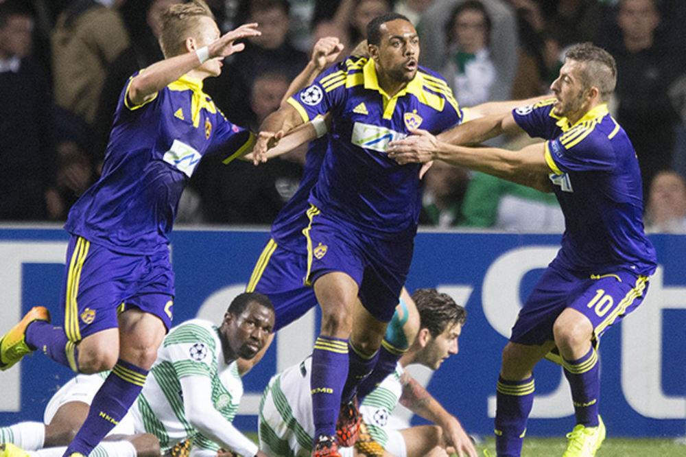 SELTIK U ŠOKU: Maribor pobedom u Glazgovu stigao do Lige šampiona