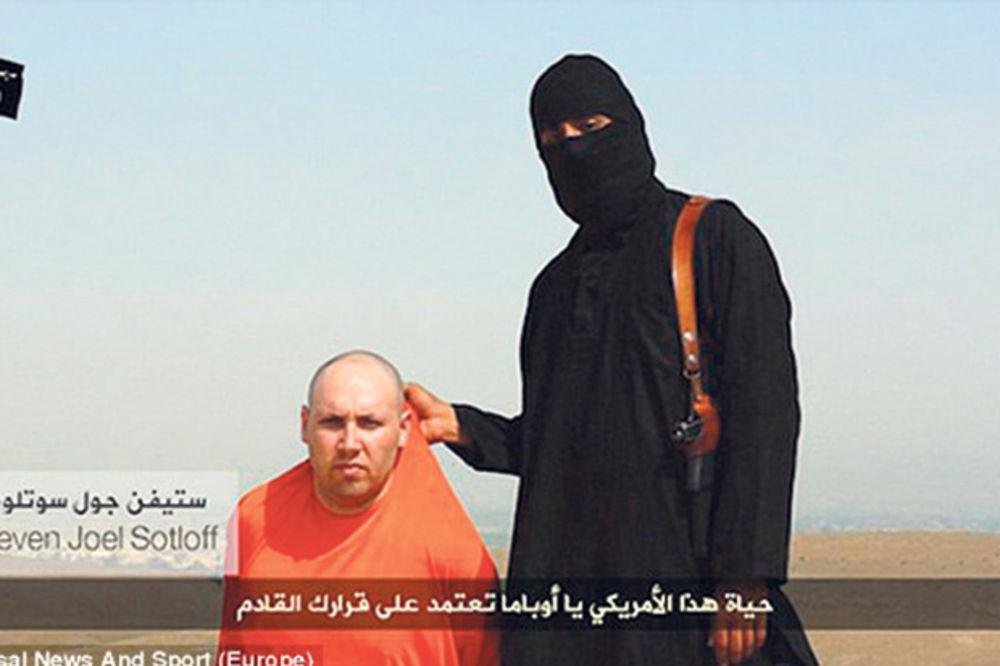 Teroristi: Stivenova glava je u Obaminim rukama