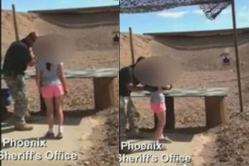 (VIDEO) POGLEDAJTE OVAJ HOROR: Devojčica (9) upucala u glavu instruktora!