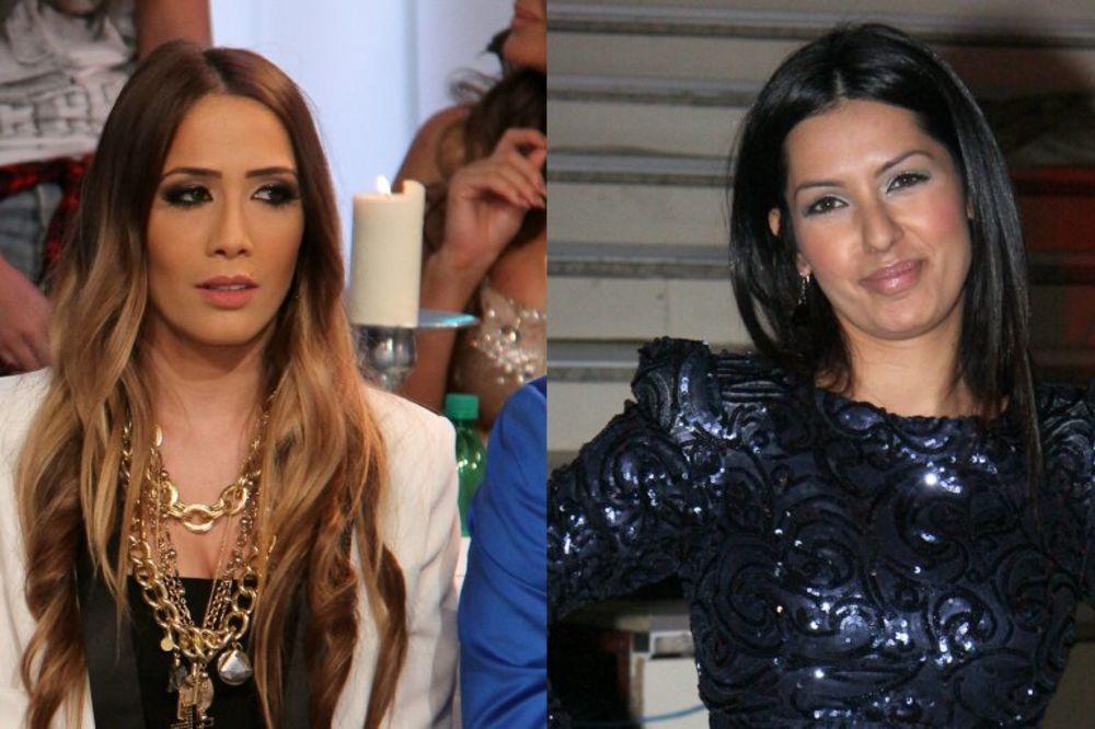 Milena Ćeranić i Tanja Savić u šouu Tvoje lice zvuči poznato!