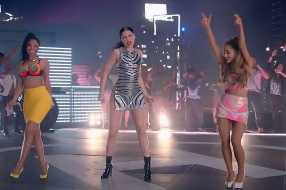 BENG, BENG: Pogledajte seksi spot Niki Minaž, Džesi Džej i Arijane Grande