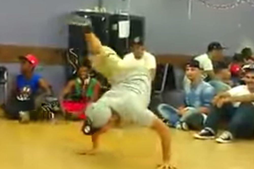 NEUSTRAŠIV: Pogledajte kako igra brejk denser koji ima samo jednu nogu!