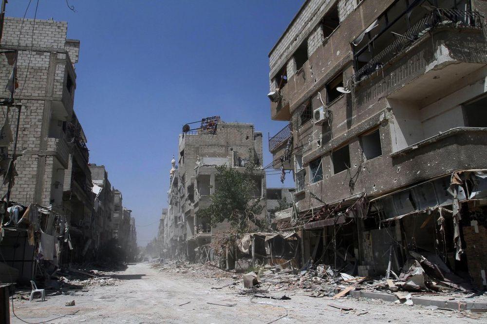 Damask, Foto AP