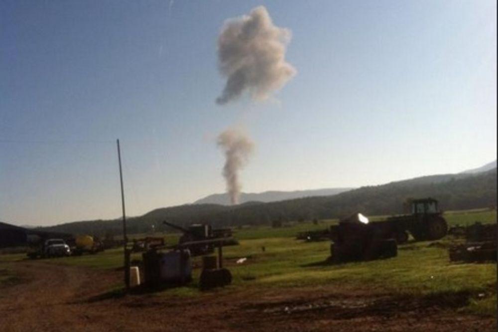 EKSPLOZIJA U VIRDŽINIJI: Srušio se američki avion F-15!