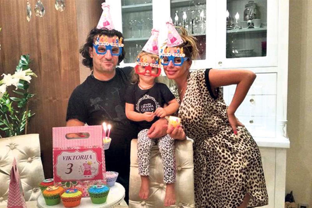 ZVEZDE U IGRAONICI: Aca Lukas proslavio ćerki Viktoriji treći rođendan!