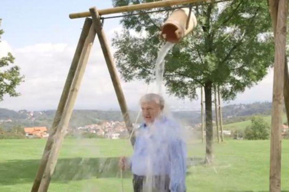 I TODORIĆ SE POKVASIO: Pogledajte kako se najbogatiji hrvatski tajkun polio vodom iz čabrice za sir!