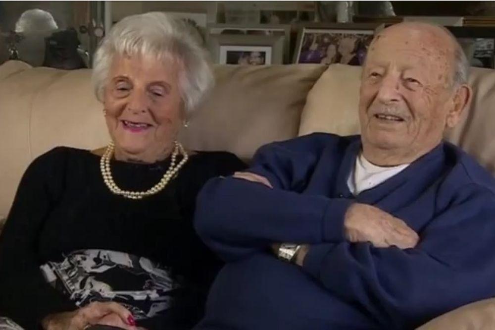 (VIDEO) TAJNA U DOBROTI I LJUBAVI: Helen (101) i Moros (102) proslavili 80 godina braka!