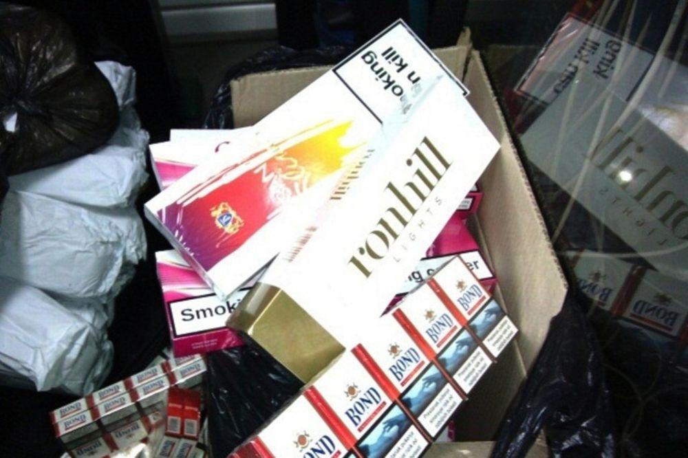 GOSTUN: Zaplenjeno 28 kg duvana i 15.000 cigareta