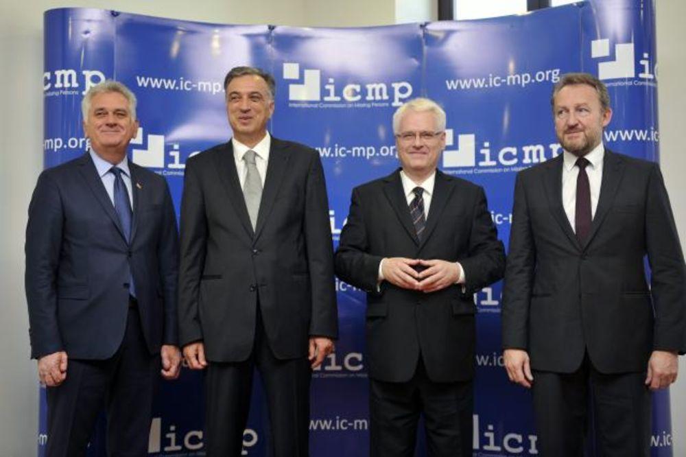 Srbija, Hrvatska, BiH i CG potpisale Deklaraciju o nestalima