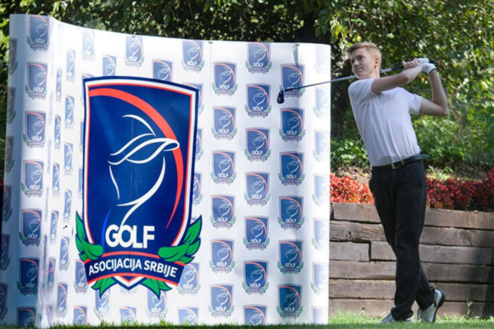 GOLF: Stojiljković juniorski prvak Srbije u golfu
