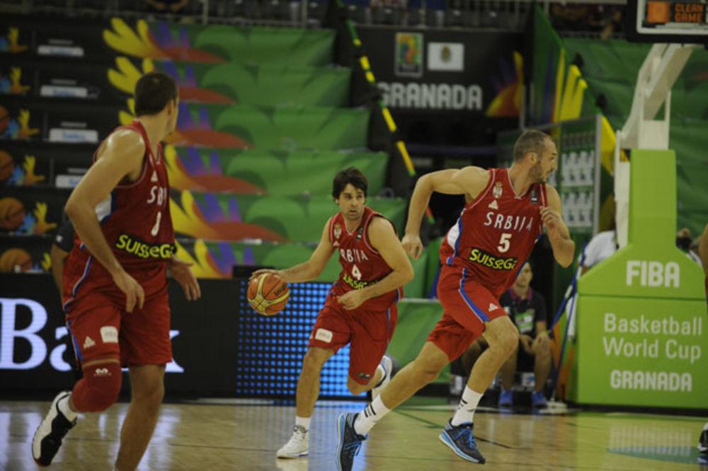 UBEDLJIVI ORLOVI: Košarkaši Srbije deklasirali Egipat na startu Mundobasketa