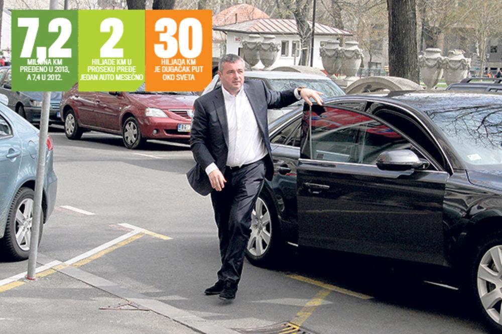 REKORDERI U SRBIJAGASU: Službeno vozilo ima svaki treći zaposleni