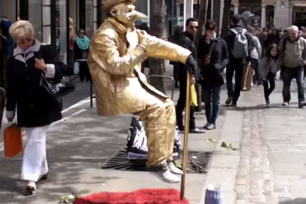OTKRIVENA TAJNA SKRIVANA VEKOVIMA: Evo kako lebde ulični iluzionisti!