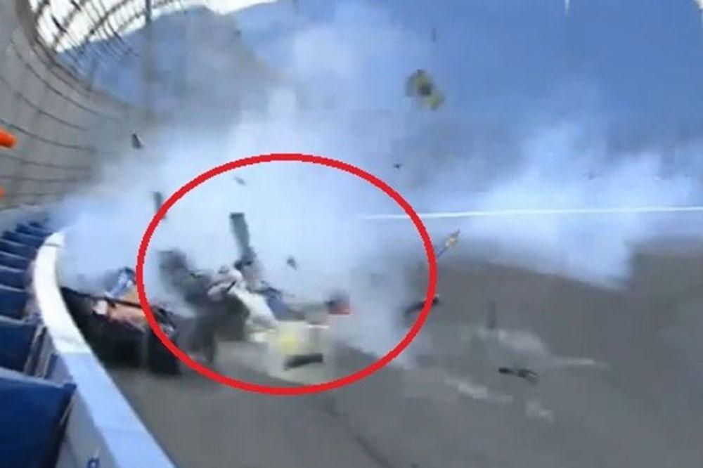 (VIDEO) NESREĆA KOJA JE POTRESLA AMERIKU: Pogledajte stravičan udes ruskog vozača