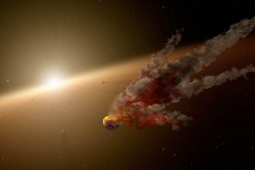 NASA SNIMILA FENOMEN: Ovako je nastala naša planeta!