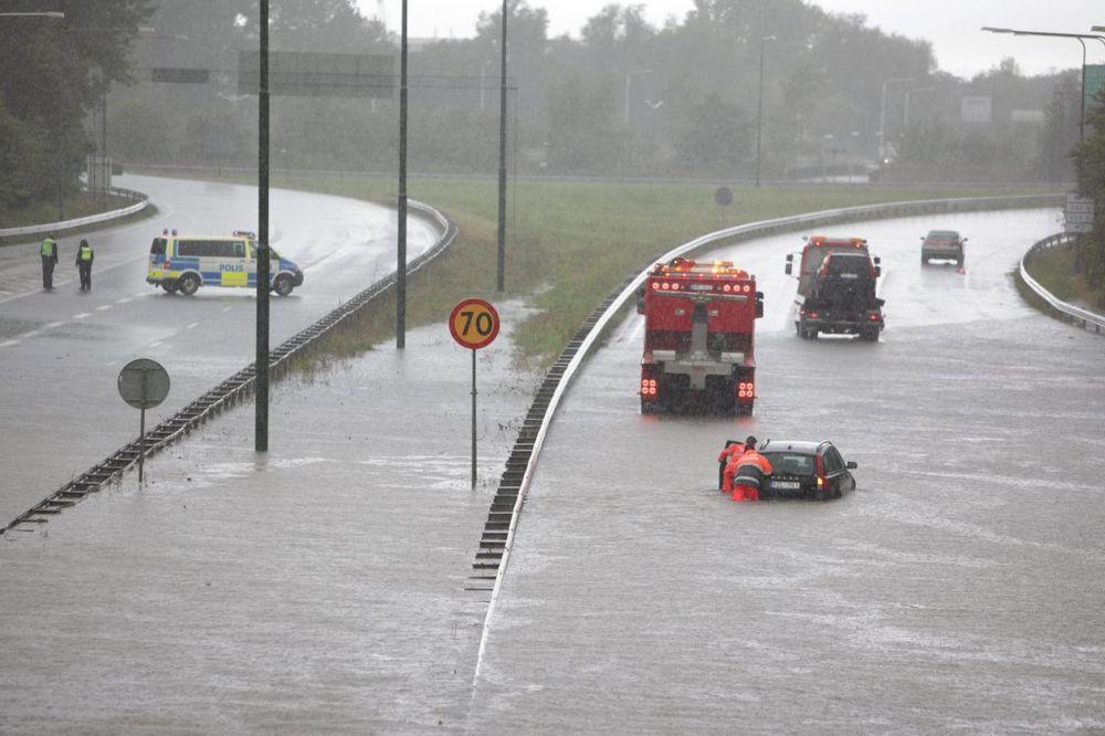 Poplave u Švedskoj i Danskoj posle jakih kiša