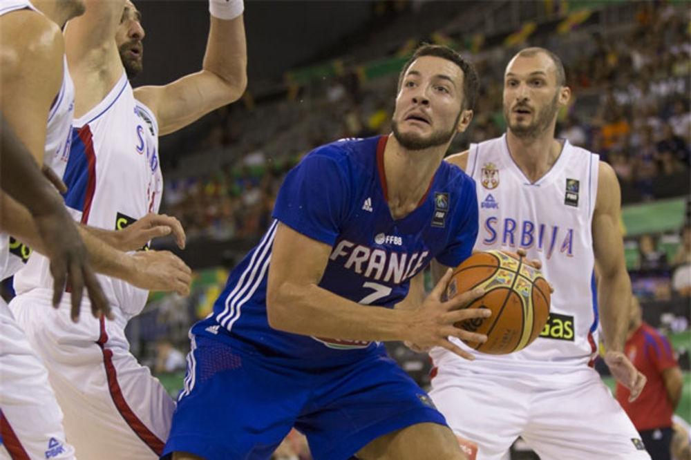 (VIDEO) SUDIJE RASTUŽILE SRBIJU: Lovernj sekund pre kraja pogodio za pobedu Francuza