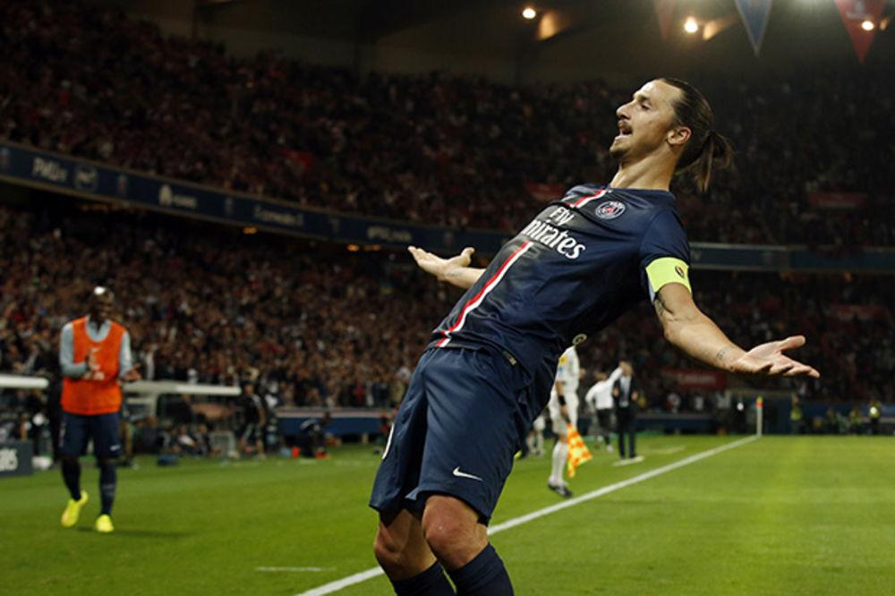 VRATIO SE HET-TRIKOM: Ibrahimović sa tri gola demolirao Sent Etjen