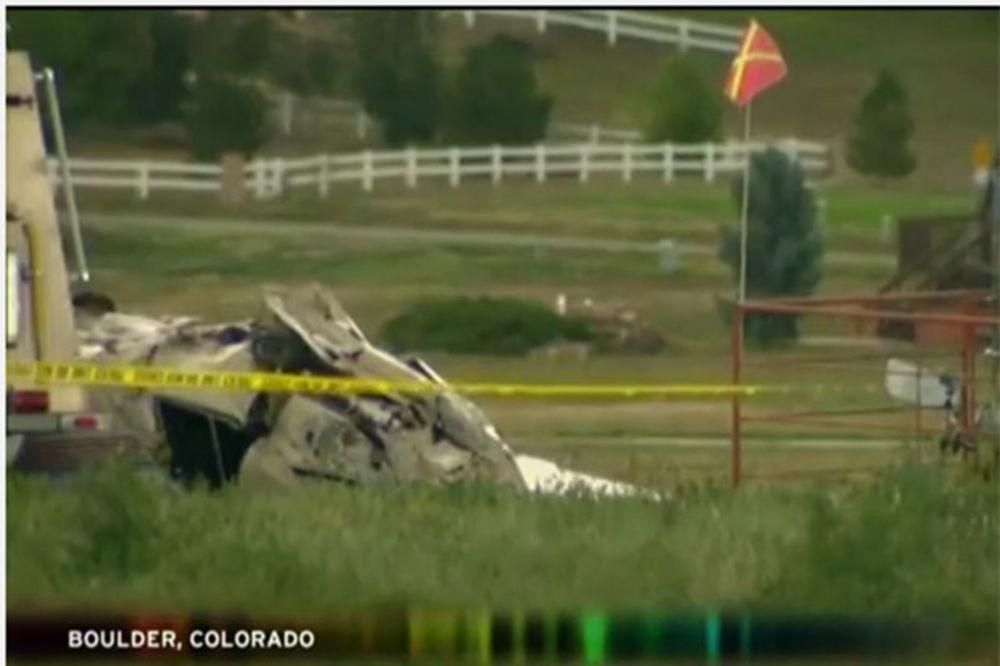 (VIDEO) SRUŠIO SE AVION U KOLORADU: 5 mrtvih u padu pajpera kod Denvera