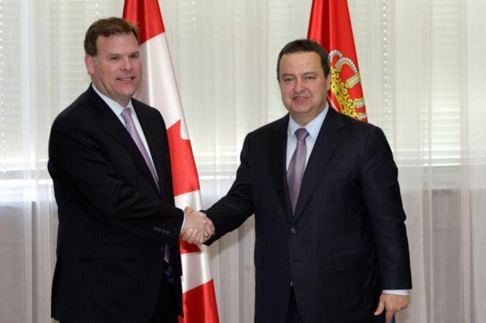 DAČIĆ I BERD: Srbija i Kanada za unapređenje saradnje