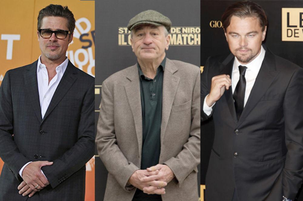 SKORSEZE OKUPIO TIM SNOVA: Bred Pit, De Niro i Leonardo Dikaprio zajedno na setu!