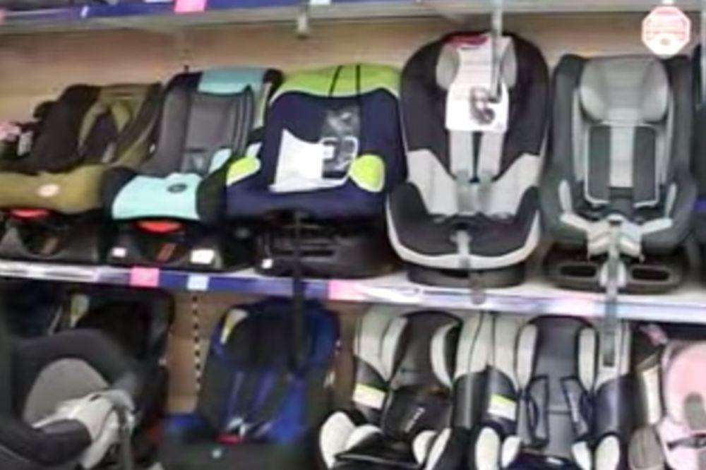 RODITELJI, OPREZ: Autosedišta za bebe 2 puta prljavija od WC šolje!