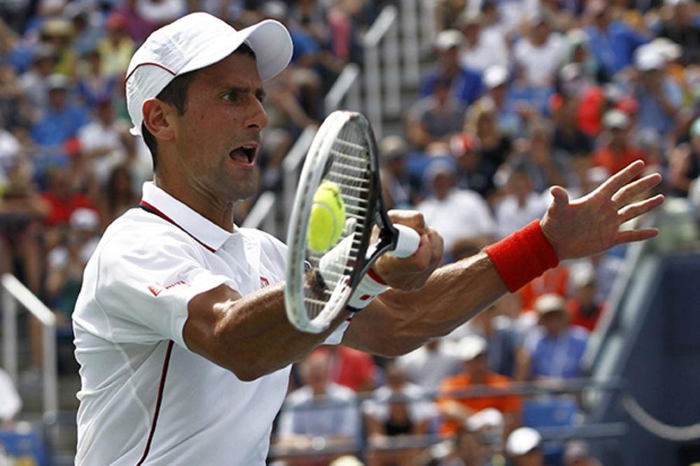 PRECRTAO I KOLŠRAJBERA: Novak u tri seta do 22. uzastopnog gren slem četvrtfinala