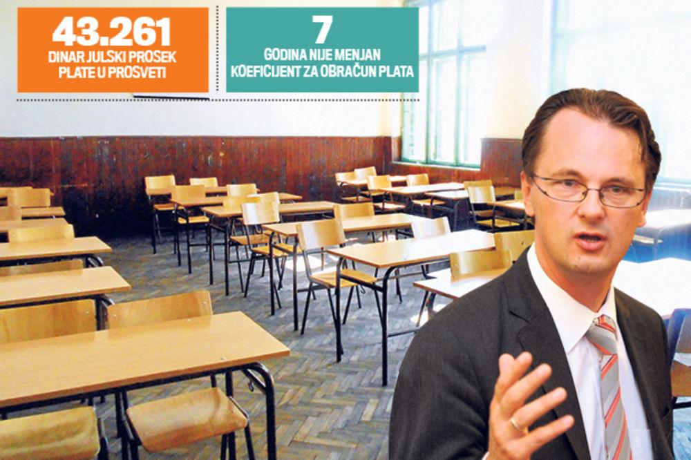 HAOTIČNO STANJE: Ministre, u štrajku ti je 300 škola i 15.000 prosvetara