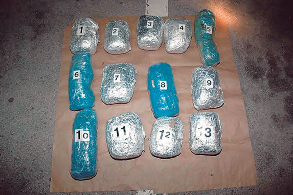 KRALJEVO: Uhapšen policajac, zaplenjeno 13,5 kg marihuane!